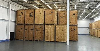 Safe and secure indoor short-term storage by Nation Capital Movers