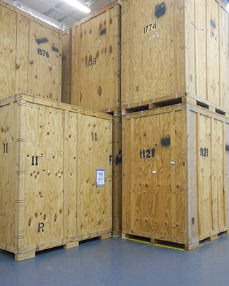 Secure storage facility for short and long term storage rental by Nation Capital Movers