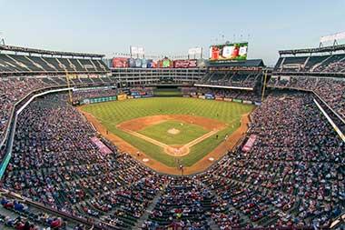 This is a baseball stadium in Arlington, VA
