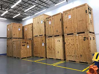 A part of our big storage facility.