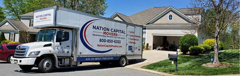 Our moving truck is ready for loading with the personal belongings of our customers.