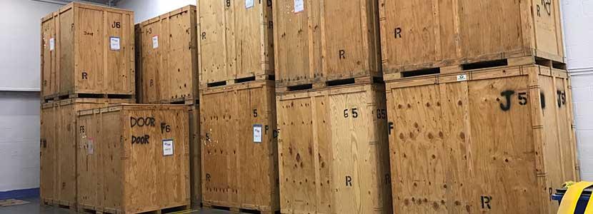 Secure furniture storage rental